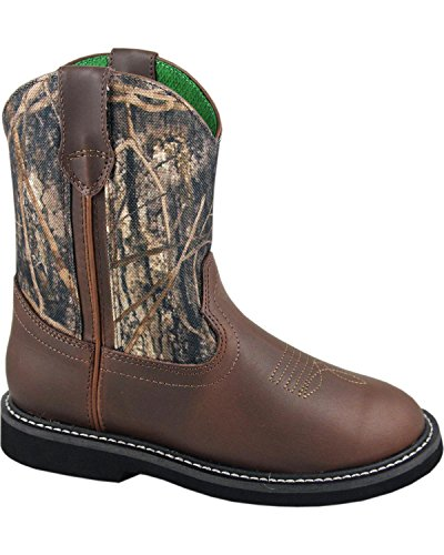 Smoky Mountain Boots Children Boys Hickory Brown Faux Leathe
