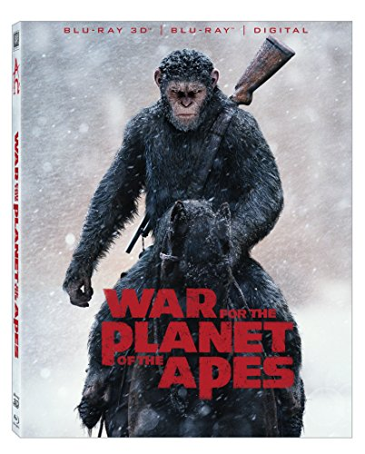 War For The Planet Of The Apes [Blu-ray] (War For The Planet Of The Apes 3d)