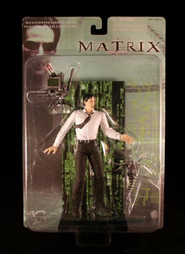 MR. ANDERSON * KEANU REEVES * Action Figure & Accessories from the film THE MATRIX