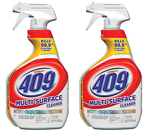 Formula 409 00628-2 Pack Antibacterial Multi Surface Cleaner, 22 Oz (Pack of 2)
