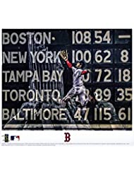 34fdf1e25c37f Andrew Benintendi Boston Red Sox 2018 MLB World Series Champions Artist  Signed 8