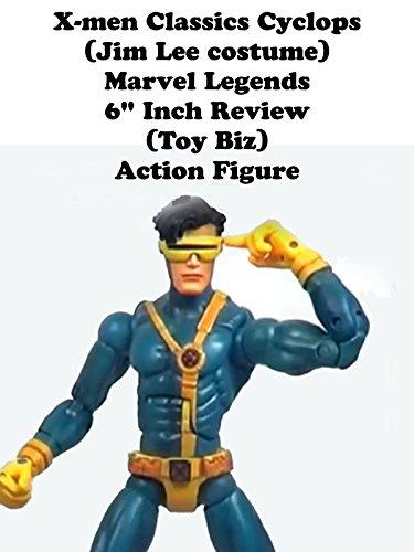 Review: X-men Classics Cyclops (Jim Lee costume) Marvel Legends 6