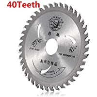 110m 30/40 TCT Teeth Saw Blade Angle Grinder Wood Plastic Cutting Circular Disc - 40