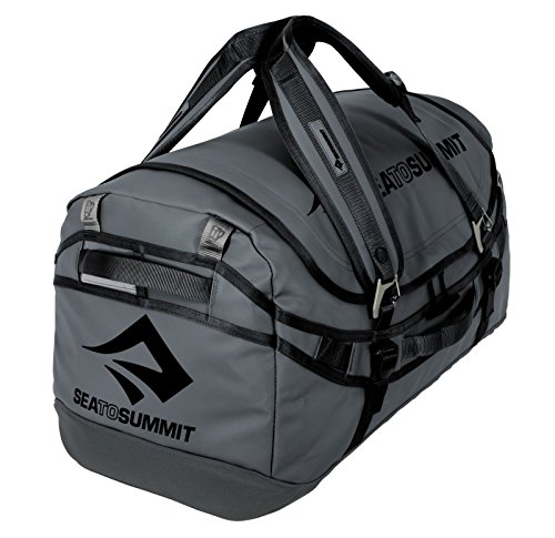 Sea to Summit Nomad Durable Travel Duffle & Backpack, Charcoal, 90 L by Sea to Summit