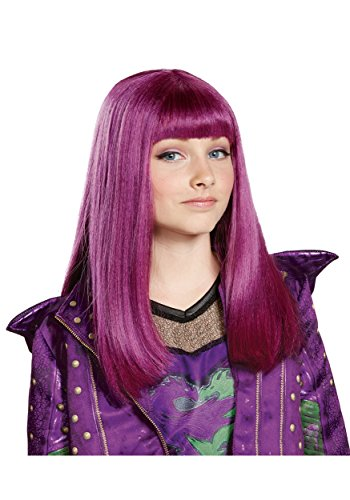 Disney Mal Descendants 2 Wig, One Size
