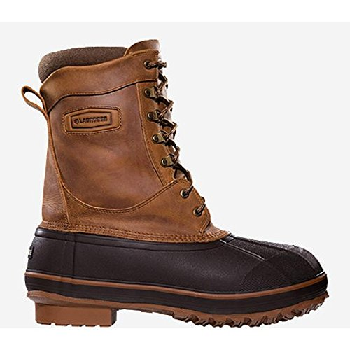 LaCrosse Men's Ice King 10 Inch 400G Pac Boot, Brown, 9 M US by Lacrosse