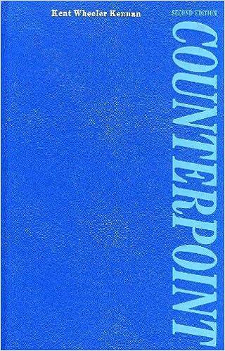 Counterpoint by Kent Wheeler Kennan (1972-06-01)