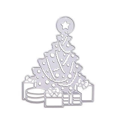 SUPVOX Troqueles De Corte Forma De Árboles De Navidad Plantilla De Plantilla De Metal Molde para