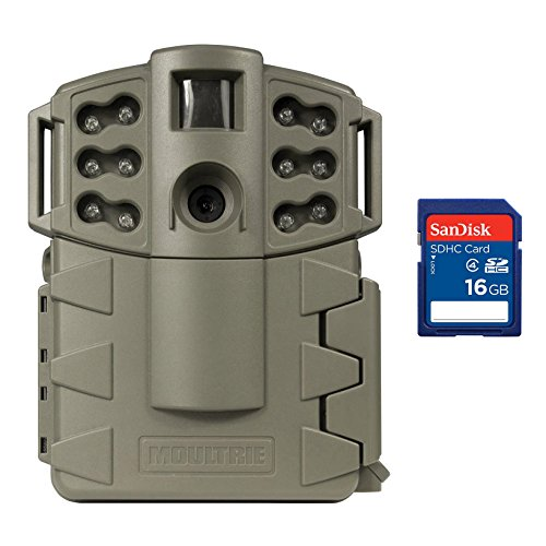 Moultrie Game Spy A-5 Gen2 Low Glow IR 5 MP Digital Trail...
