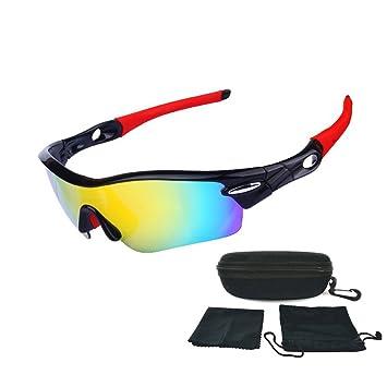 Gafas de Sol Deportivas Polarizadas UV Protección para Ciclismo Pesca Conducción Esquiar Golf Motocicleta Corriendo