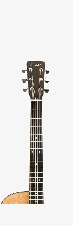 Sigma modelo sf18ce - Solid Spruce Top folk guitarra eléctrica acústica de tamaño: Amazon.es: Instrumentos musicales