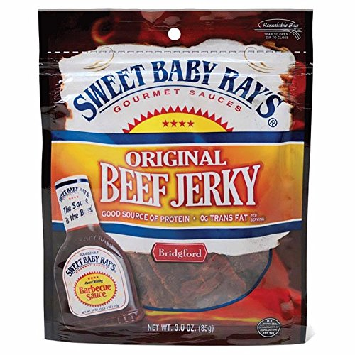 Sbr Honey Bbq Beef Jerky 3oz (Sweet Bbq Jerky compare prices)