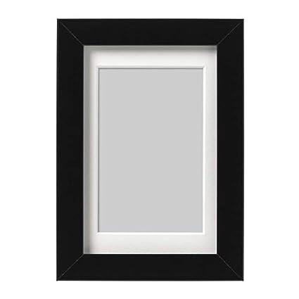 6de1cfe3903f Amazon.com - IKEA Ribba Frame Black 103.784.45 Size  4x6 -