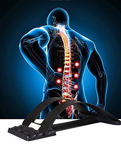 MAGIC BACK SUPPORT Multi-Level Back Stretching Device