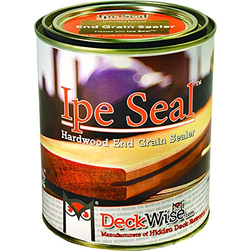 DeckWise Ipe Seal Hardwood End Grain Sealant for Fresh Cut Board Ends or Turning Blanks (1-Quart)