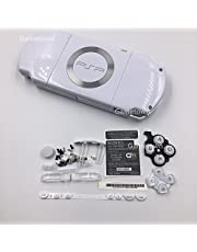 NEW Replacement Sony PSP 2000 Console Full Housing Shell Cover With Button Set-White.