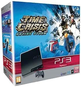 PlayStation 3 Consola 320 Gb y Time Crisis y Move y Pistola