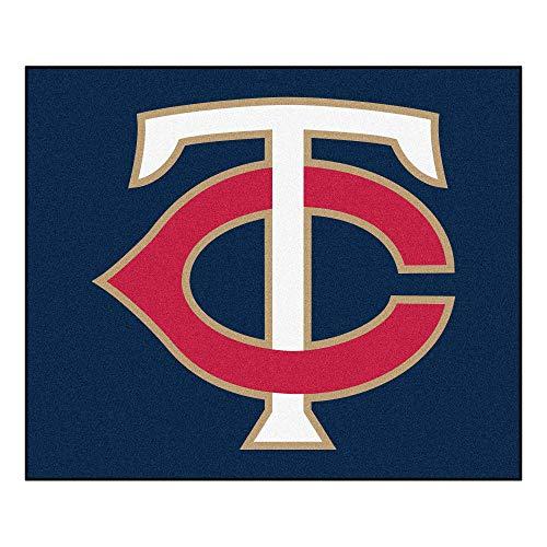 FANMATS MLB Minnesota Twins Nylon Face Tailgater Rug (Minnesota Twins Tailgater)