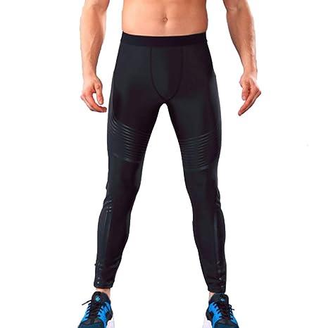 Funnyrunstore Sports Yoga Pants Pantalones para Hombre ...