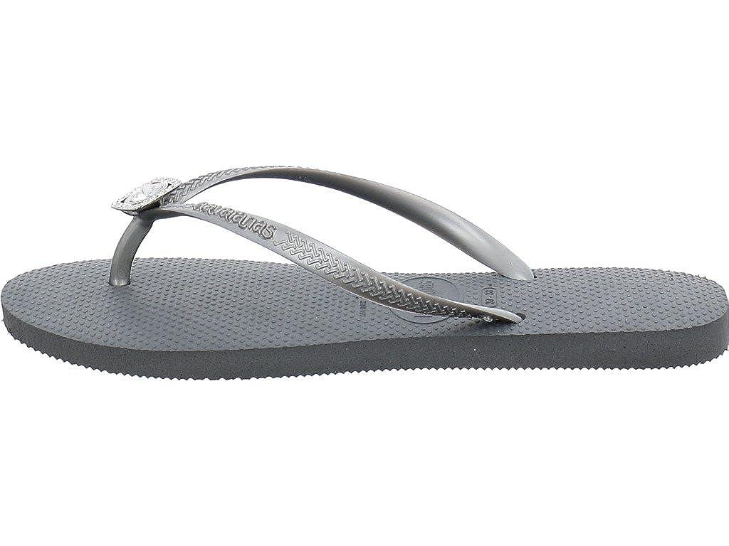 d85e1c313a4 Havaianas Slim Crystal Poem Flip Flops  Amazon.co.uk  Shoes   Bags