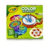 (US) Crayola; Color Spinout; Marker Art Activity and Art Tool; Spin to Create Colorful Designs; Makes a Great Gift