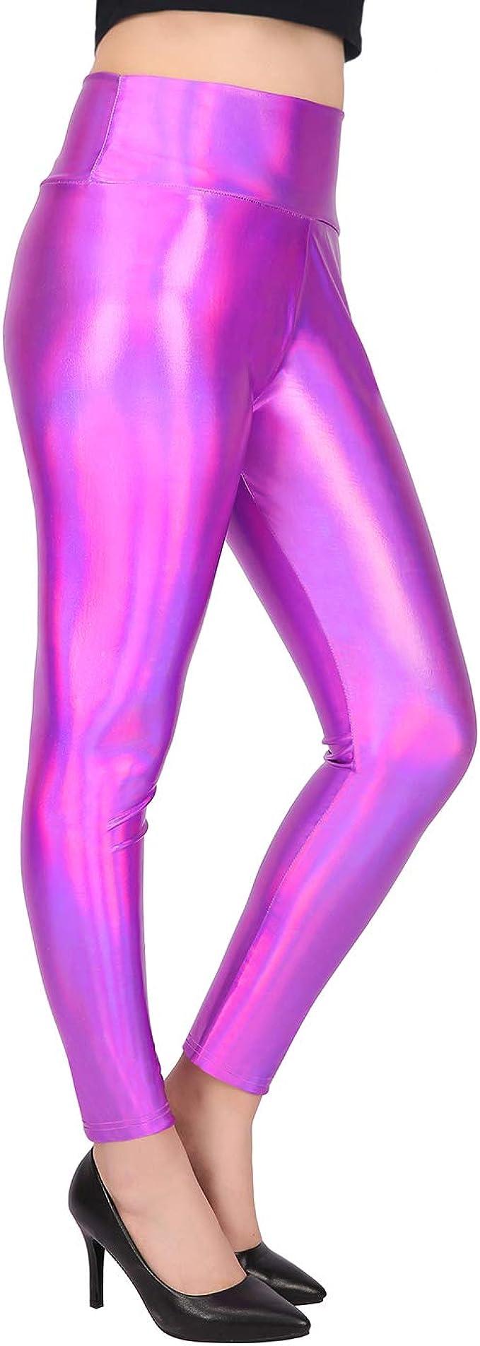 Amazon.com: HDE - Mallas holográficas brillantes para mujer ...