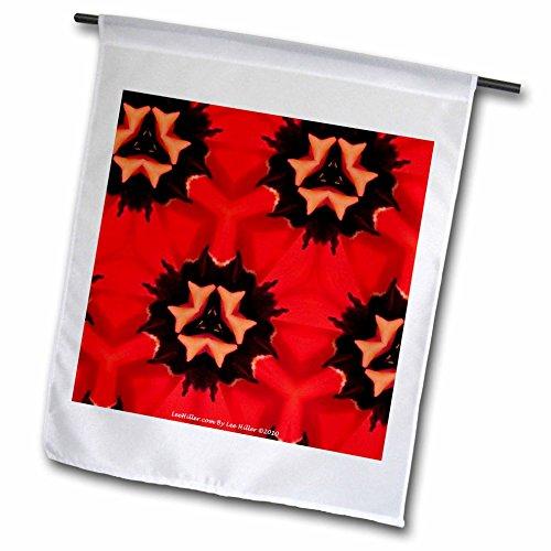 signs Kaleidoscope - Kaleidoscope Tulip Red 2-12 x 18 inch Garden Flag (fl_5795_1) ()