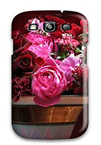 Galaxy Skin Case Cover For Galaxy S3 Popular Flower Phone Case