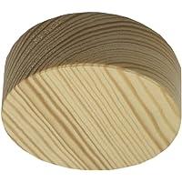 Caja de distribución de madera de pino