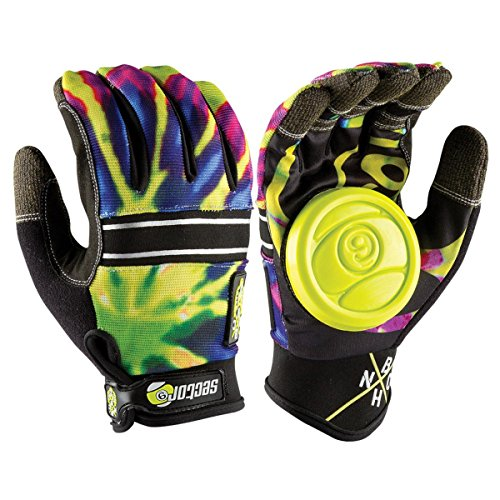- Sector 9 BHNC Slide Gloves S/M - Limeburst