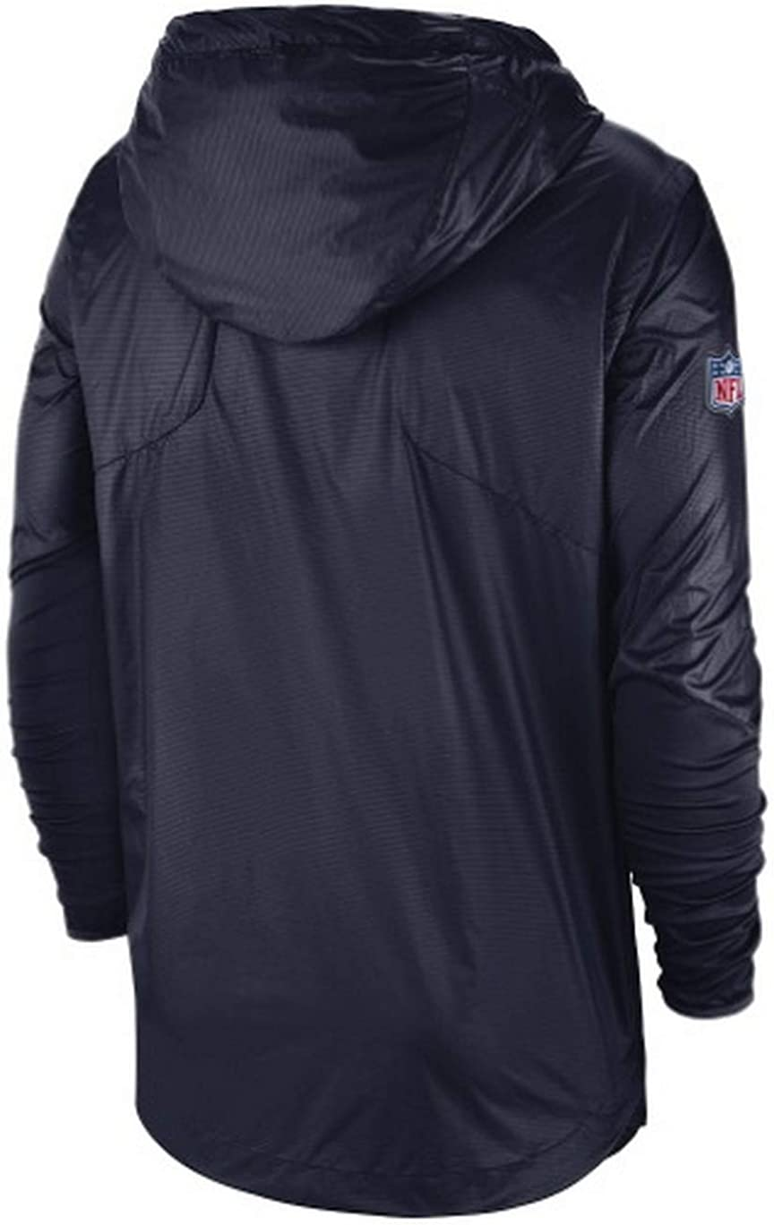 Nike Mens New England Patriots Aplha Fly Rush NFL Jacket Size Medium
