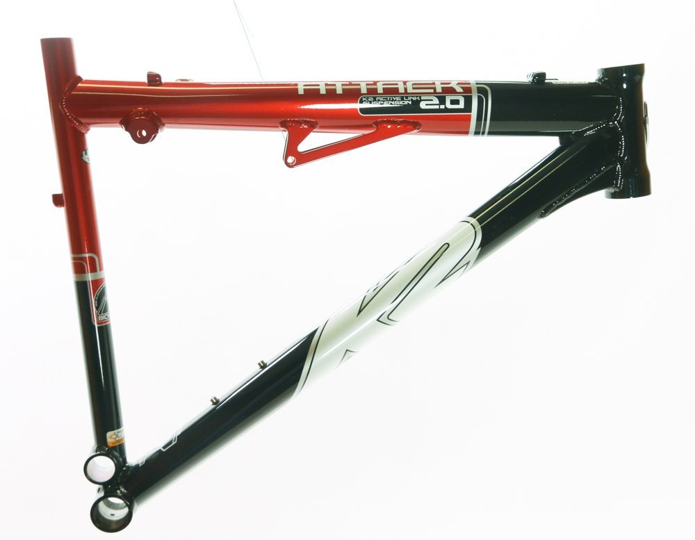 Rare 19'' K2 Attack 2.0 Replacement Suspension Bike Main Front Triangle Frame NEW