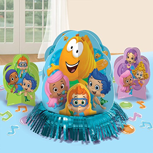 Amscan Bubble Guppies Table Decorating -