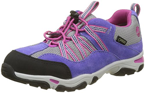 Timberland Unisex Kids' Trail Force Goretex Waterproof Oxfords, Purple (Purple 524), 1 UK ()
