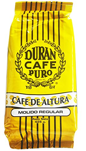 - Café Duran Ground Panama Coffee Duran Cafe De Altura Molido Regular Highest Quality 1/2 Pound (212gr.) Best Coffee in The World!