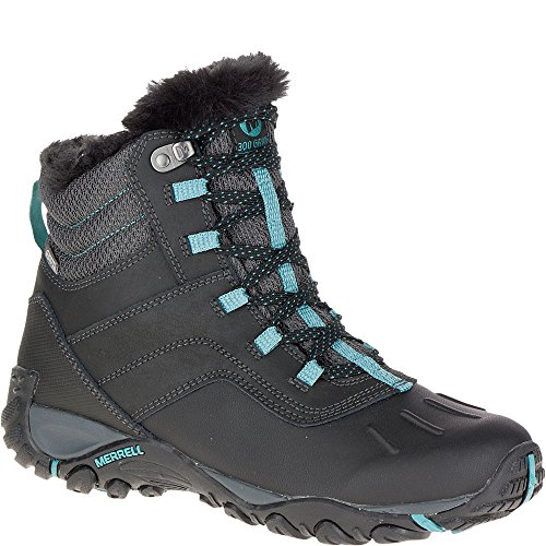 MERRELL Boots - ATMOST MID WTPF - black brittany blue Black Brittany Blue