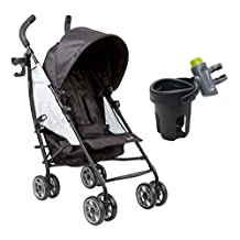 Summer Infant 3D Flip Convenience Stroller with Drink Pod, Double Take