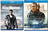 End Of Days Apocalyptic Double Feature- The Road Warrior & Waterworld 2 Pack Blu-Ray Bundle