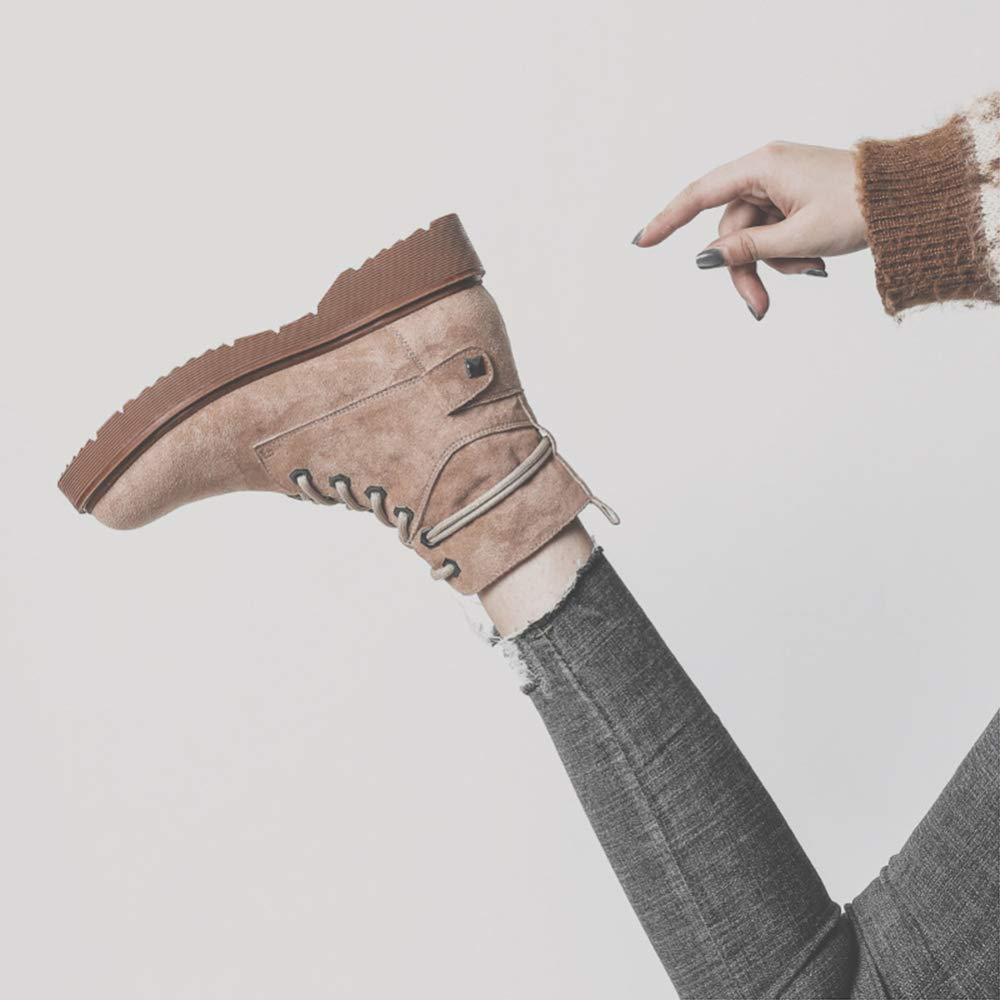 Adultsys Martin Stiefel Stiefel Stiefel Weiblich 2018 Herbst Britische Wind Große Damenschuhe Wilde Stiefel Retro Stiefel Damen Stiefel Winter 5121b4