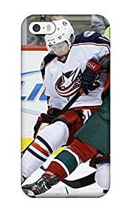 New Style LeeJUngHyun Hard Case Cover For Iphone ipod touch4- Minnesota Wild Hockey Nhl (82)