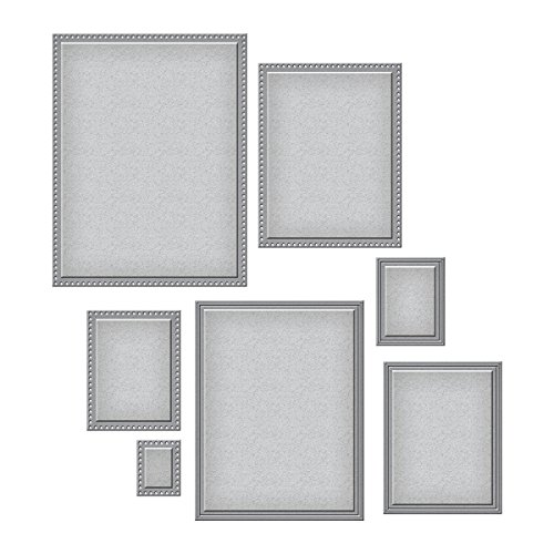 Spellbinders Nestabilities Scored and Pierced Rectangles Etched/Wafer Thin Dies (Nestabilities Collection)