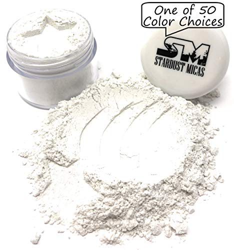 Gangster Make Up (Cosmetic Grade Mica Powder, All-Natural Clear Mica Powder, Organic Pure Mica Powder for Makeup, Very Fine Glitter Powder, Bath Bombs Glitter, DIY Cosmetics, Stardust Micas Just)
