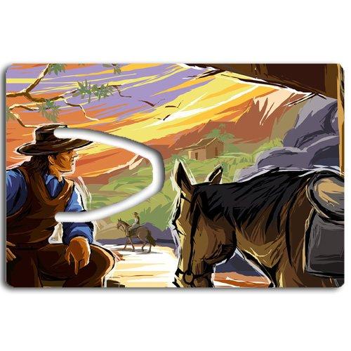 Cowboy Ideas (Cowboy Bookmark Great Gift Idea)