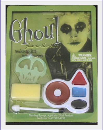 Ghoul Face Painting Kit -