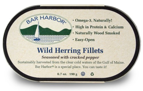Bar Harbor All Natural Smoked Herring - Cracked Pepper - 6.7 -