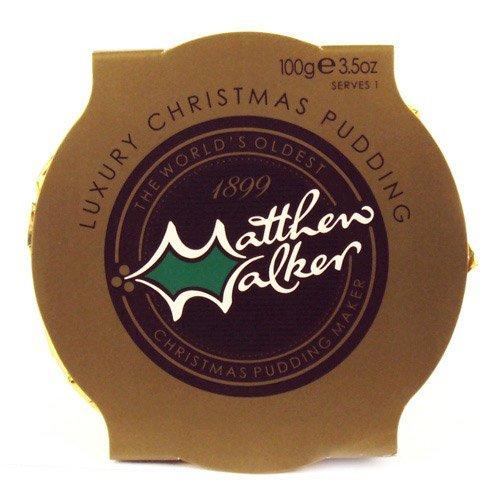 Matthew Walkers Luxury Christmas Pudding - 100g, 4oz (6 Pack)