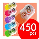 Fullmark Carton Series: Model E Correction Tapes, 450-count, assorted colors
