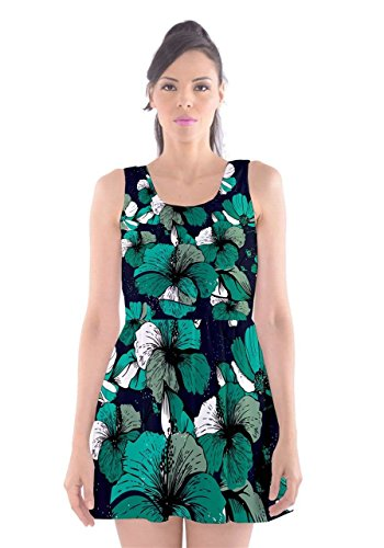 CowCow - Vestido - para mujer Turquoise Orchid