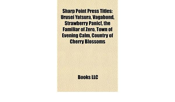 Sharp Point Press titles: Urusei Yatsura, Strawberry Panic ...