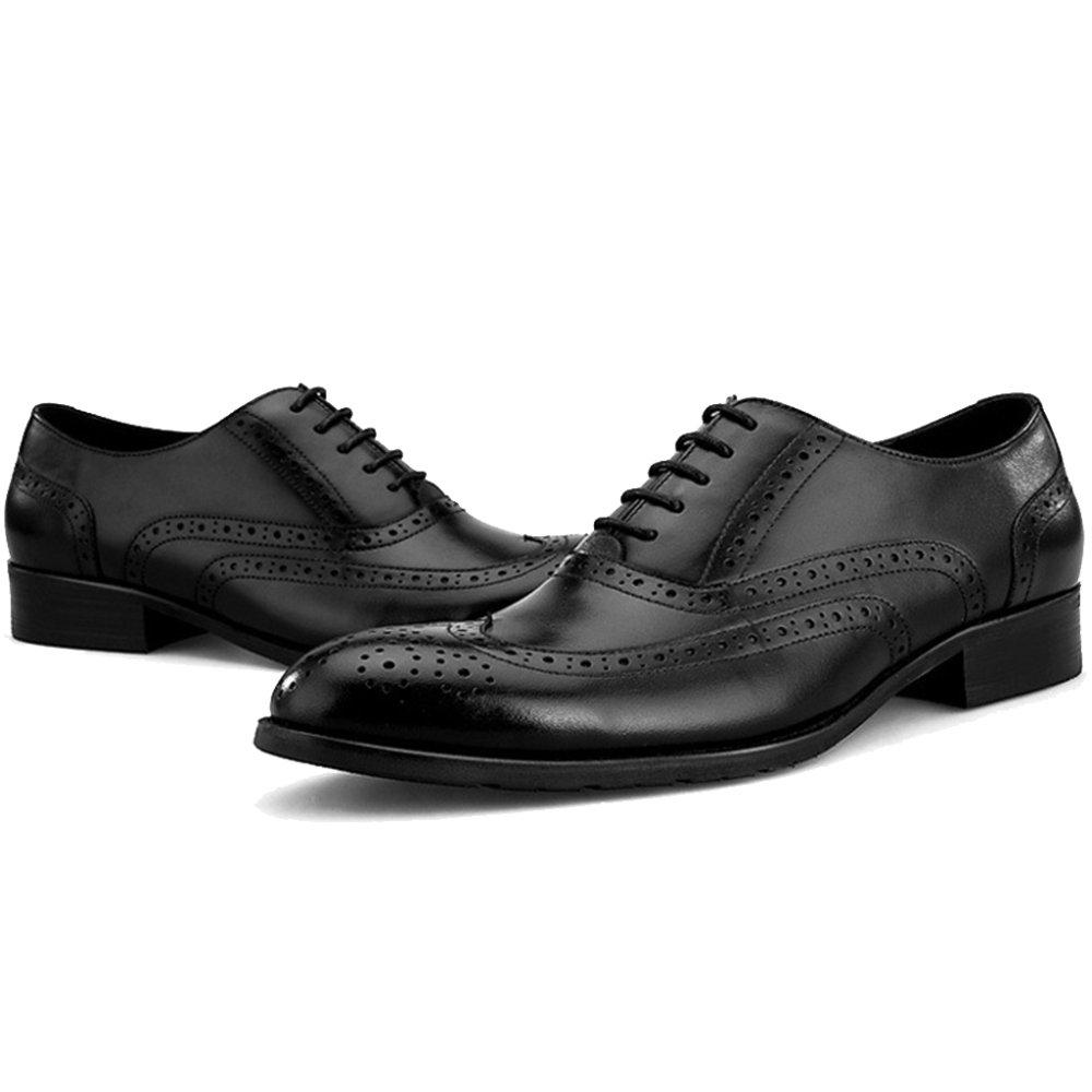 MERRYHE Spitzschuh Lace-ups Echtes Leder Brogue Oxford Schuhe Für Herren Business Formal Dress Handmade Schuh Für Hochzeit Party Arbeit
